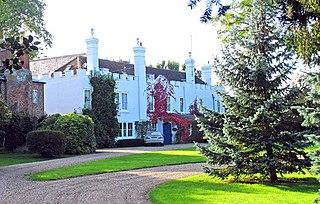Bekesbourne village in United Kingdom