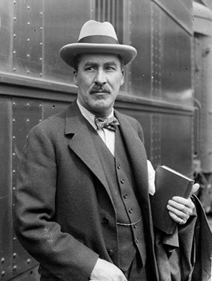 Informal portrait of Howard Carter (the archae...