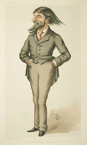 Hubert von Herkomer - Image: Hubert von Herkomer Vanity Fair 26 January 1884