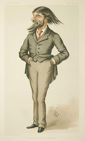 Hubert von Herkomer - Image: Hubert von Herkomer Vanity Fair 26 January 1884