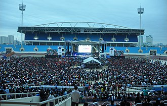 Mỹ Đình National Stadium - MTV EXIT concert at Mỹ Đình National Stadium