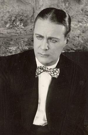 Huntley Gordon - Gordon in a scene still from The Beloved Imposter (1918)