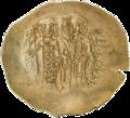 INC-1871-r Номисма иперпер. Иоанн II Комнин. Ок. 1118—1143 гг. (реверс).png