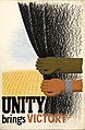 INF3-303 Unity of Strength Unity brings victory (arm and hand, pulling aside dark curtain).jpg