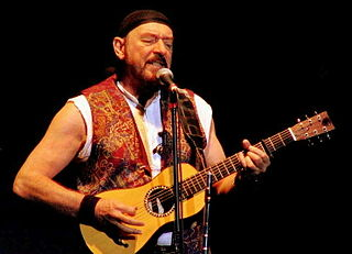 Ian Anderson Scottish musician, leader of Jethro Tull