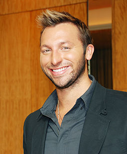 Ian Thorpe with a smile
