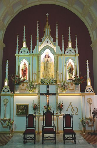Our Lady of Immaculate Conception Church, Mt. Poinsur - Altar of the Church