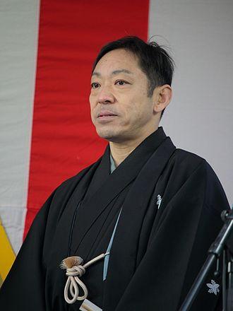 Teruyuki Kagawa - Image: Ichikawa Chusha IX Teruyuki Kagawa IMG 3004r 20160109