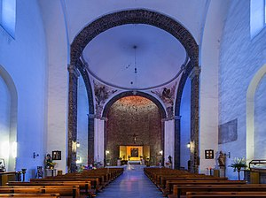 Fray Juan de Torquemada - Interior of the church of Santiago de Tlatelolco
