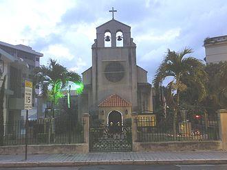 German immigration to Puerto Rico - Iglesia Santísima Trinidad of Ponce