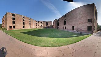 Indian Institute of Management Ahmedabad - Image: Iima panorama complex