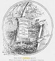 Illustration of SC Foster headstone in Alleghney cemetery 1900 monumen posibly.jpg