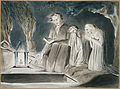 Illustrations to Robert Blair's The Grave , object 19 A Father and Two Children beside an Open Grave.jpg