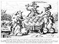 Illustrierte Geschichte d. sächs. Lande Bd. II Abt. 1 - 283 - Satirisches Zeitbild auf die Niederlage Tillys.jpg