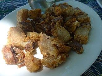 Chicharrón - Bagnet from Ilocos Norte, Philippines
