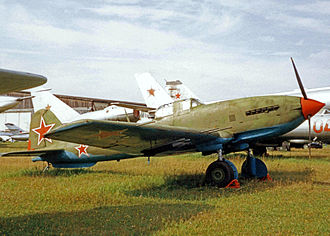 Ilyushin Il-10 - Ilyushin Il-10M in Soviet Air Force markings preserved at the Monino museum near Moscow