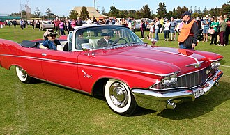 Imperial (automobile) - 1960 Imperial Crown Convertible