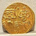 Impero romano d'oriente, costante II e costantino IV, emissione aurea, 654-659.JPG