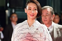 "Inamori Izumi from ""Stray Nightingale"" at Opening Ceremony of the Tokyo International Film Festival 2016 (33260119420).jpg"