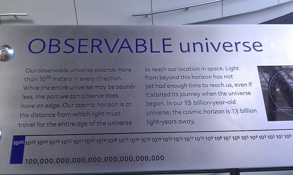 Incorrect plaque at the Rose Center for Earth and Space, April 2011