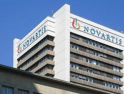 Novartis - Empresa farmacêutica da Suíça.