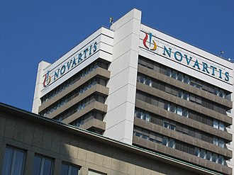Basel-Stadt - Novartis headquarters in Basel