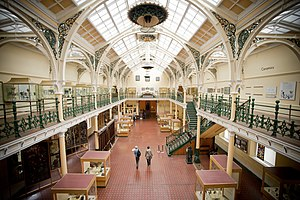 Birmingham Museum and Art Gallery - Industrial Gallery, the original part of the Art Gallery