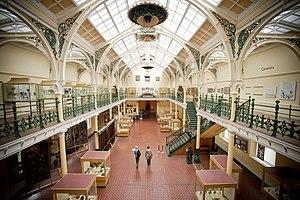 Birmingham Museum and Art Gallery - Industrial Gallery, the original part of the Art Gallery