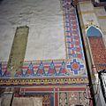 Interieur, detail van de muur met muurschildering aan de westzijde van het noorder transept - Ootmarsum - 20383860 - RCE.jpg