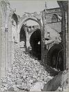 interieur gebombardeerde hervormde kerk gezien naar het noordoosten vanuit de raadskapel - arnhem - 20319401 - rce