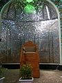 Interior Abulfazli Tekieyeh of Nishapur(Abu al-Fadhli al-Abbas Takiyah Mosque of Nishapur)- Minbar 09.JPG