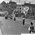 Internationaal folkloristische optocht Arnhem. St. Sebastiaansgilde van Haacht, , Bestanddeelnr 907-9239.jpg