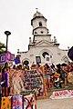 Intl womens day protest brazil church.jpg