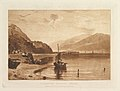 Inverary Pier, Loch Fyne, Morning (Liber Studiorum, part VII, plate 35) MET DP821469.jpg