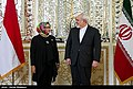 Iran's Zarif, Indonesia's Marsudi Meet in Tehran.jpg