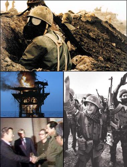 Description de l'image Iran-Iraq War Montage.png.
