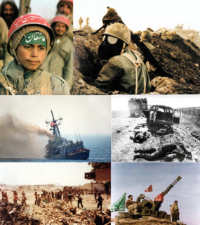 Iran–Iraq War 1980–1988 war between Iran and Iraq