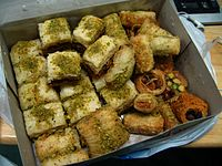 Iraqi food-Baklava and others.jpg