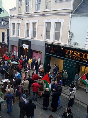 Ireland Palestine Solidarity: O'Connell Street...