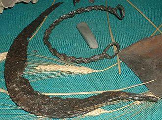 Ham Hill, Somerset - Celtic artefacts from Ham Hill