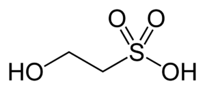 Isethionic acid - Image: Isethionic acid 2D skeletal