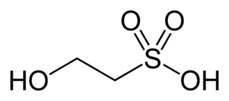 Isethionic acid - Image: Isethionic acid 2D skeletal