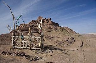 Islamic shrine at Mazar Tagh.jpg