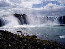Islande - La cascade Godafoss.JPG