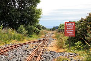 Isle of Mull Railway - Craignure in 2011