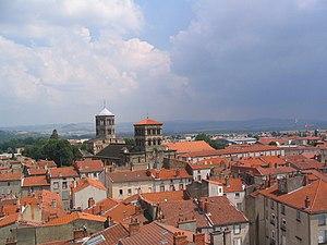 Issoire - Image: Issoire depuis la Tour de l'Horloge