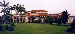 Maimoon Palace in Medan, North Sumatra, Indonesia