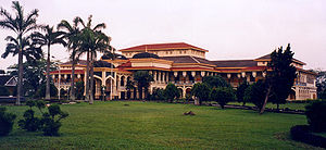 Sultanate of Deli - Maimoon Palace in Medan, North Sumatra, Indonesia
