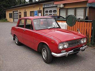 Isuzu Bellett - Isuzu Bellett four-door sedan