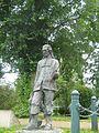 Izaak Walton monument, Stafford.JPG